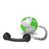 De telefonie van Internet Stock Foto