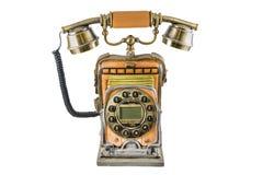 De telefoon in stijl van retro Royalty-vrije Stock Afbeelding