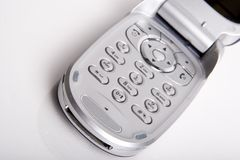 De telefoon van de cel Stock Fotografie