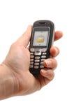 De telefoon van de cel Stock Afbeelding
