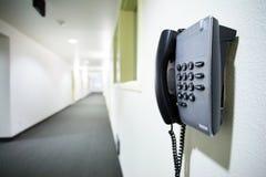 De telefoon van de muur Royalty-vrije Stock Afbeelding