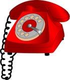 De telefoon van de wijzerplaat Royalty-vrije Illustratie