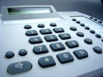 De telefoon van het bureau Stock Foto's