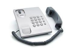 De telefoon van het bureau Stock Afbeeldingen