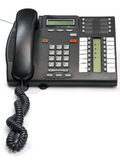 De Telefoon van het bureau royalty-vrije stock foto's