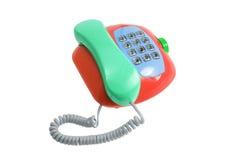 De Telefoon van het stuk speelgoed Royalty-vrije Stock Afbeeldingen