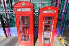 De telefoon van Londen Royalty-vrije Stock Afbeelding