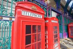 De telefoon van Londen Stock Afbeelding