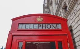 De Telefooncel van Londen royalty-vrije stock afbeelding