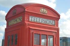 De Telefooncel van Londen Stock Foto's