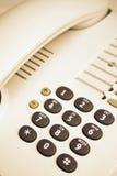 De telefoondetail van het bureau Stock Fotografie