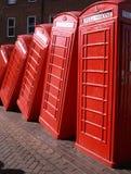 De telefoondoos van Londen Stock Fotografie