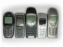 De Telefoons van de cel Stock Afbeelding