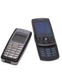De telefoons van de cel. Stock Foto