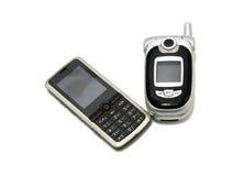 De telefoons van de generatiecel royalty-vrije stock afbeeldingen