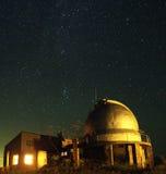 De telescoop in de elementen Stock Afbeelding