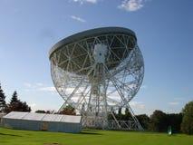 De telescoop van de Jodrellbank Royalty-vrije Stock Foto's