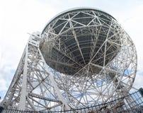 De telescoop van Lovell stock afbeelding