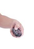 De hand van de mens. Stock Fotografie