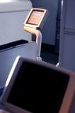 De Televisie van het vliegtuig Royalty-vrije Stock Afbeeldingen