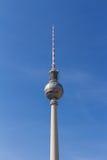 De televisietoren van Berlijn in Alexanderplatz Stock Fotografie