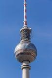 De televisietoren van Berlijn in Alexanderplatz Stock Afbeeldingen