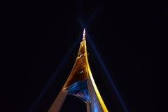 De televisietoren van Riga Stock Fotografie