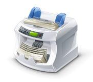 De Tellende Machine van het geld Royalty-vrije Stock Afbeelding