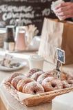De Teller van de doughnutopslag Royalty-vrije Stock Foto