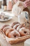 De Teller van de doughnutopslag Stock Afbeelding
