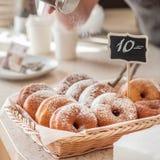 De Teller van de doughnutopslag Royalty-vrije Stock Fotografie