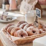 De Teller van de doughnutopslag Royalty-vrije Stock Afbeelding