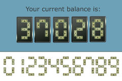 De teller van het geld Royalty-vrije Stock Fotografie