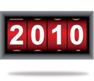 De teller van het nieuwjaar Royalty-vrije Stock Foto