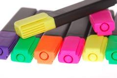 De teller van kleuren Stock Afbeelding