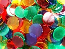 De Tellers van Colourfull Stock Afbeeldingen