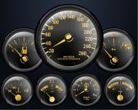 De Tellers van de auto Stock Afbeelding