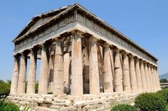 De tempel Stock Foto's