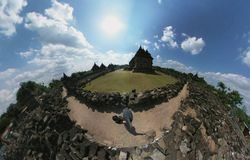 De tempel royalty-vrije stock fotografie