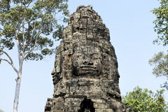 De tempel, Angkor Wat, Siem oogst, Kambodja Stock Fotografie