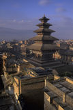 De tempel Bhaktapur, Nepal van Vatsala Stock Foto