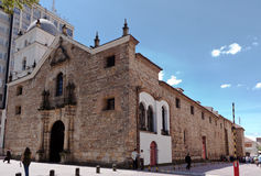 De Tempel Bogota Colombia van San Agustin Stock Afbeelding