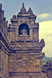 De tempel Borobudur van Buddist Yogyakarta Yogyakarta indonesië Royalty-vrije Stock Afbeelding