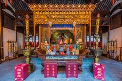 De tempel Chenghuang Miao Shanghai China van de stadsgod royalty-vrije stock foto