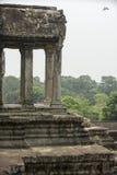 De tempel complex van Angkor Wat kambodja Royalty-vrije Stock Afbeeldingen