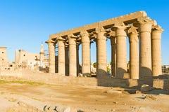 De Tempel Egypte van Luxor Stock Afbeelding