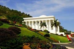 De tempel en de tuinen van Baha'i Royalty-vrije Stock Fotografie