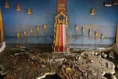 De Tempel Gouden Mandalay Myanmar Birma van Mahamuniboedha Royalty-vrije Stock Afbeeldingen