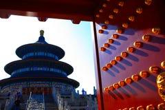 De tempel Heavenâs Stock Afbeeldingen
