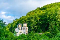 De tempel in het dorp van Murino Stock Foto's
